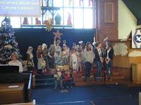 Sunday Club Nativity at Broom Churchh Newton Mearns