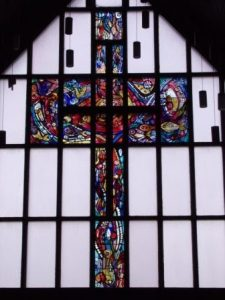 The Stained Glass Window in Newton Mearns