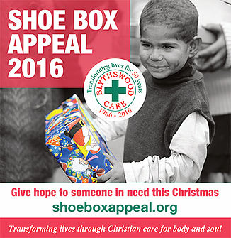blythswood care shoebox appeal