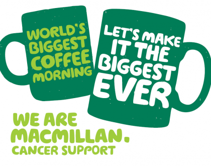 Macmillan coffee moring in newton mearns