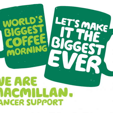 Macmillan coffee moring in newton mearns