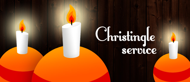 Christingle Service at Broom Church