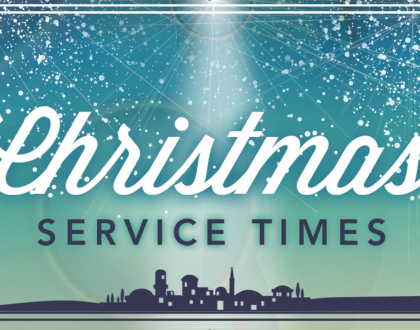 Update to Christmas Services