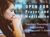 Open for Prayer & Meditation
