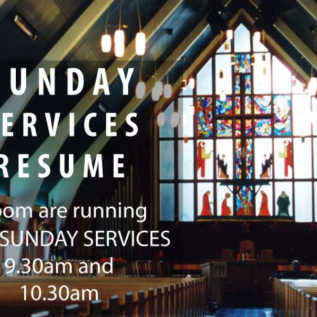 Sunday Services to Resume